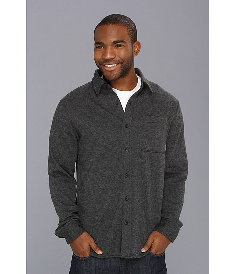 Camasi Merrell - Tucker L/S Button Up - Black Heather