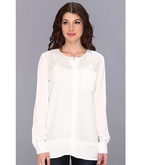 Bluze Calvin Klein - Perferated Tunic M3KA9560 - Winter White