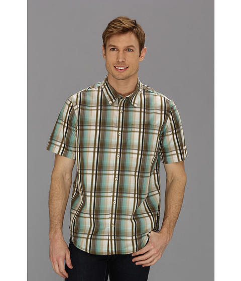 Camasi Prana - S/S Duke Shirt - Cargo Green