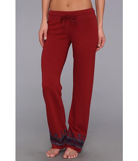 Pantaloni Lucky Brand - Embroidered Sweat Pant - Biking Red