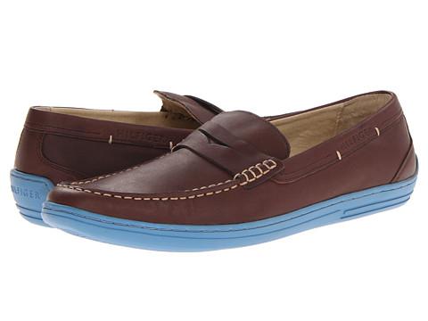 Pantofi Tommy Hilfiger - Vance - Coffe Bean/Navy