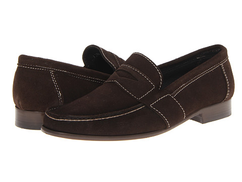 Pantofi Fitzwell - Classic Penny - Chocolate Suede