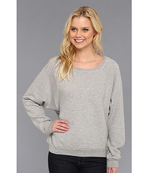 Bluze C&C California - Loopy French Terry Raglan Sweatshirt - Heather Grey