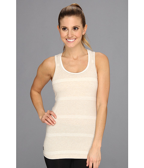 Bluze Lole - Pinnacle Scooped Neckline Tank Top - Mineral/Cloud Stripe