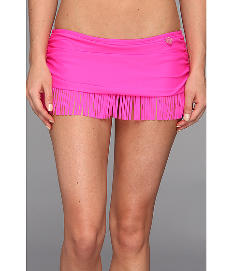 Costume de baie Body Glove - Smoothies Hula Surfrider Skirted Bottom - Hot Pink