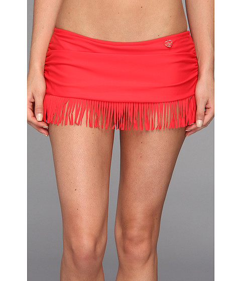 Costume de baie Body Glove - Smoothies Hula Surfrider Skirted Bottom - Scarlet Red