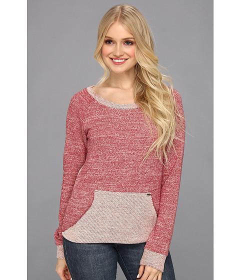 Bluze Volcom - Knitnot Sweatshirt - Burgundy