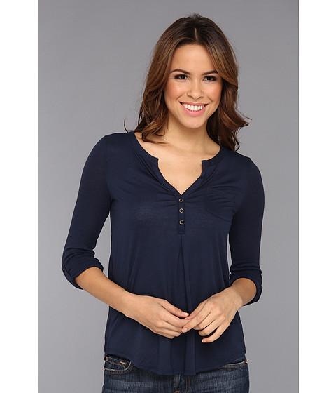 Bluze Lucky Brand - Dallas Pocket Top - American Navy