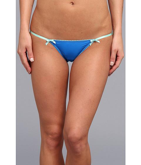 Lenjerie Betsey Johnson - Pretty Pin-Up Microfiber Bikini 721513 - Berry Blue