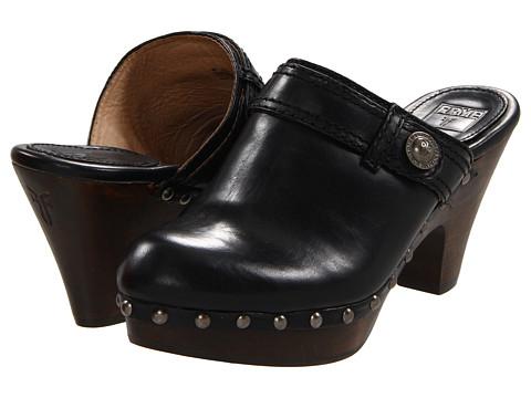 Sandale Frye - Audra Button Heel - Black