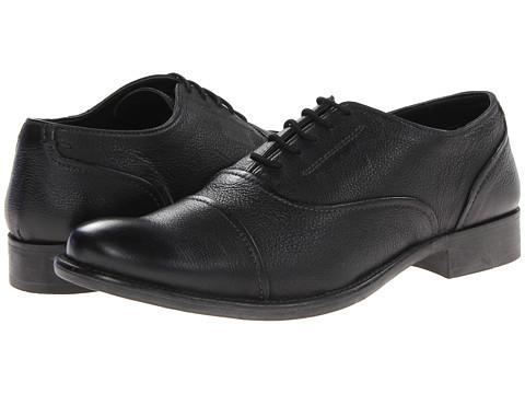 Pantofi Hush Puppies - Buck - Black Leather