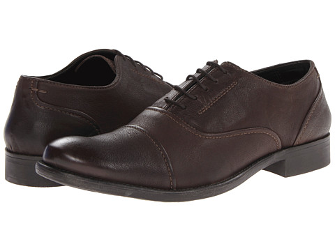 Pantofi Hush Puppies - Buck - Dark Brown Leather
