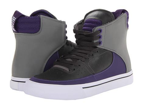 Adidasi Supra - Kondor - Charcoal/Purple/White
