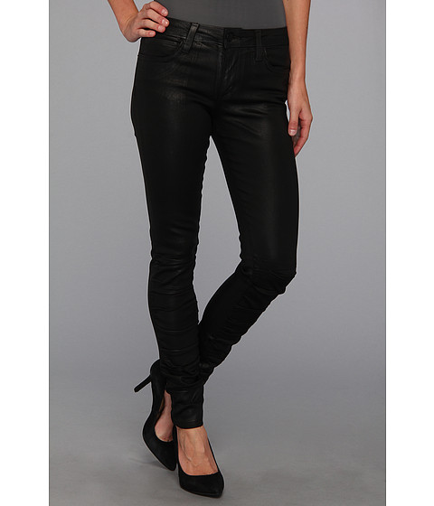 Blugi Joes Jeans - Coated Ruched Skinny Ankle - Black