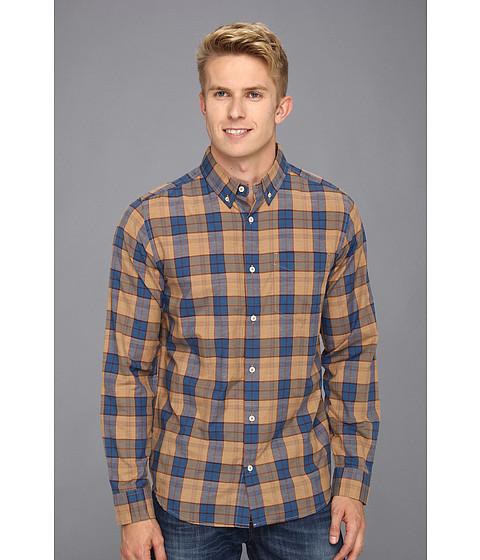 Camasi DC - Dharma Long Sleeve Woven Shirt - Khaki Plaid