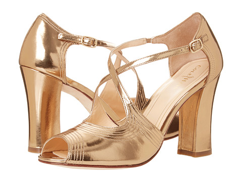 Pantofi Cole Haan - Jovie High Sandal - Gold Specchio