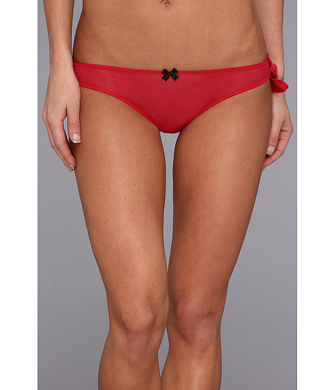 Lenjerie Betsey Johnson - Jingle All The Way Ruffle Bikini - Red Hots