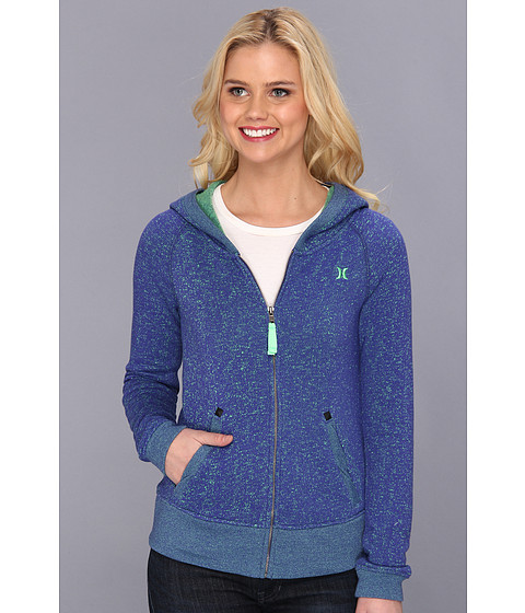 Bluze Hurley - Homeroom Zip Hoodie (Juniors) - Heather Westminster Blue