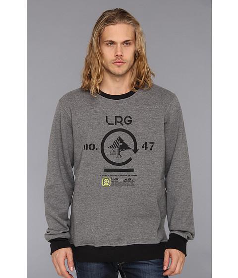 Bluze L-R-G - Retro Eternity Crewneck Sweatshirt - Charcoal Heather