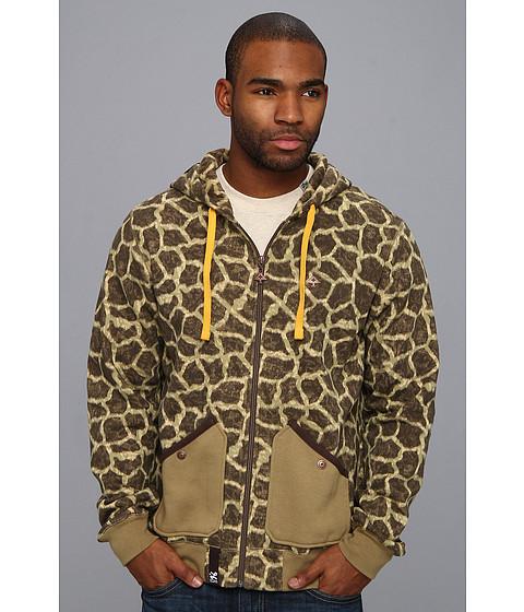 Bluze L-R-G - Savage Safari Zip Hoody - Giraffe