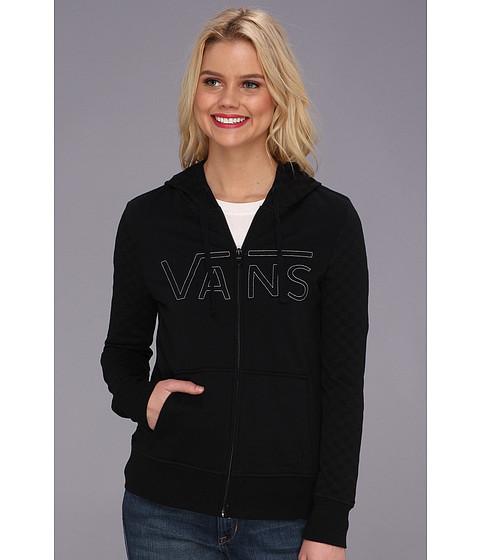 Bluze Vans - Queensboro Checkered Fleece - Black