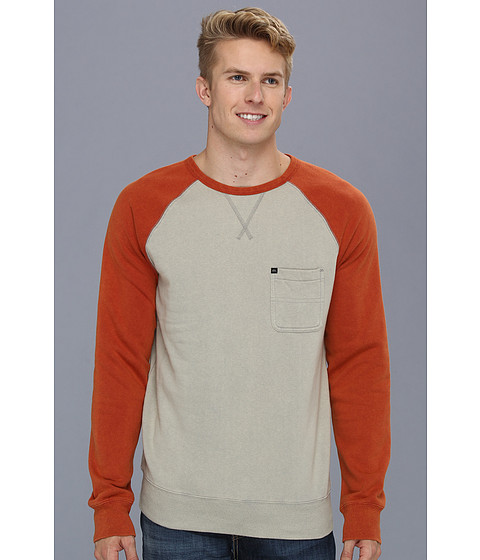 Bluze Quiksilver - Xabi Sweatshirt - Haggis Grey