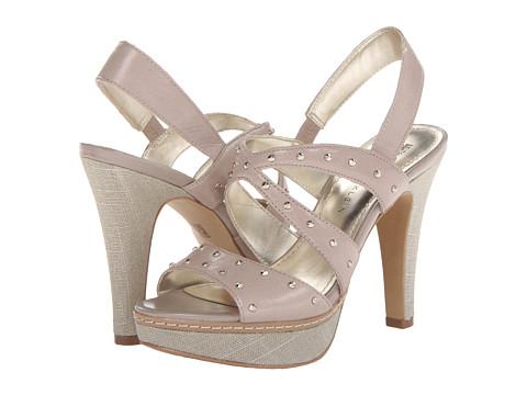 Pantofi Anne Klein New York - AKFlorissa - Light Taupe Leather