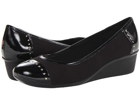 Pantofi Anne Klein New York - Dunley - Black Fabric
