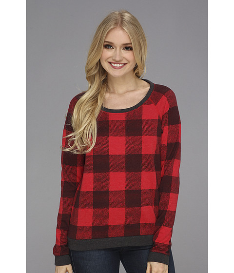 Bluze Alternative Apparel - Luma Sweatshirt - Buffalo Plaid