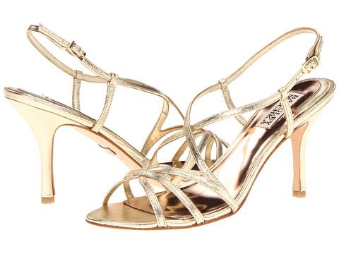 Pantofi Badgley Mischka - Ava II - Platino Leather