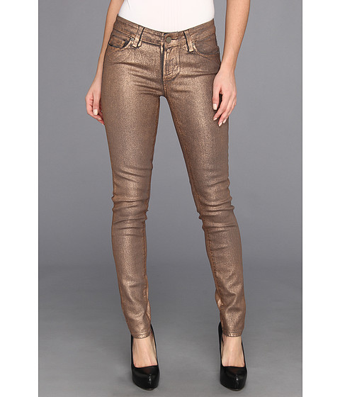 Blugi Paige - Verdugo Ultra Skinny in Rose Gold Coating - Rose Gold Coating