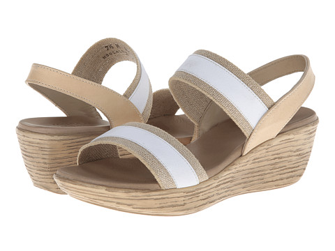Sandale Munro American - Reed - White/Natural Fabric