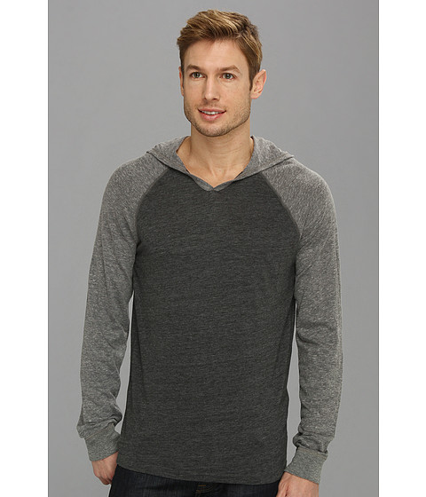 Bluze Lucky Brand - Colorblock Hoodie - Magnet