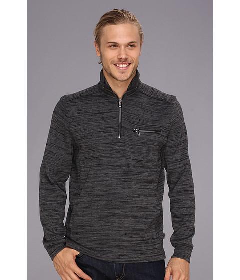 Bluze Calvin Klein - 1X1 Rib Space Dye Shirt - Char Space D