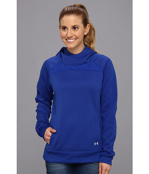 Bluze Under Armour - UA ColdgearÃ'® Infrared Fleece Storm Hoodie - Blu-Away/Reflective