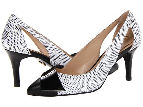 Pantofi Pour La Victoire - Irony - Black/White Nappa/Shiny TPU/Brushed Lizard