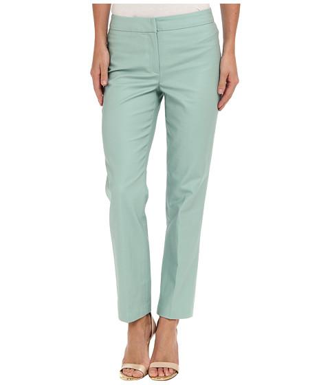 Pantaloni NIC+ZOE - The Silvia Perfect Pant - Front Zip Ankle - Seaglass