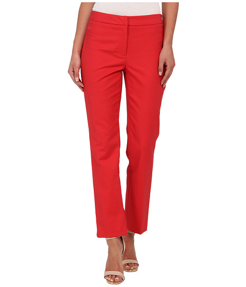 Pantaloni NIC+ZOE - The Silvia Perfect Pant - Front Zip Ankle - Fruit Punch