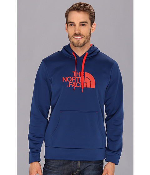 Bluze The North Face - Surgent Hoodie - Estate Blue/Fiery Red