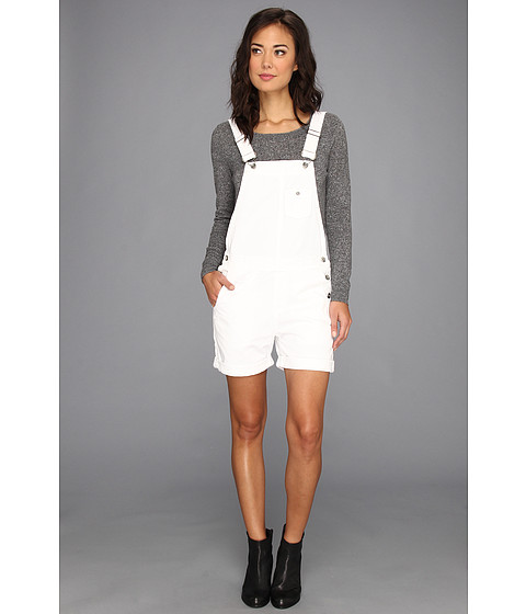 Pantaloni Big Star - Heather Shortalls in Distressed White - Distressed White