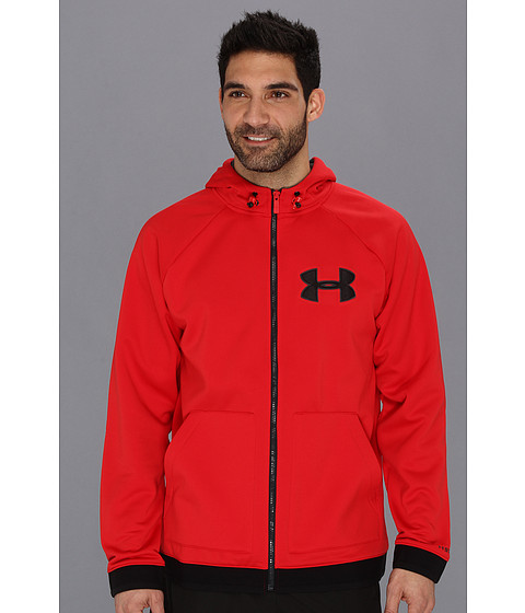 Bluze Under Armour - UA Ugottahaveit Hoodie - Red/Carbon Heather/Black/White