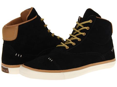 Adidasi radii Footwear - Napoli Mid VLC - Black/Brown Suede