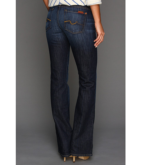Blugi 7 For All Mankind - Kimmie Bootcut w/ Contoured Waistband in Midnight New York Dark - Midnight New York Dark