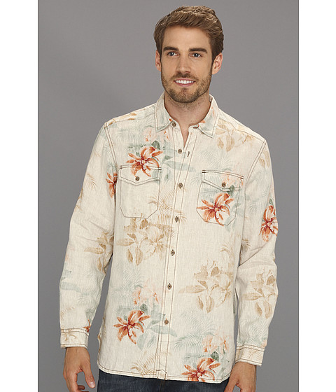 Camasi Tommy Bahama - Island Modern Fit First Class Breezer L/S Shirt - Natural