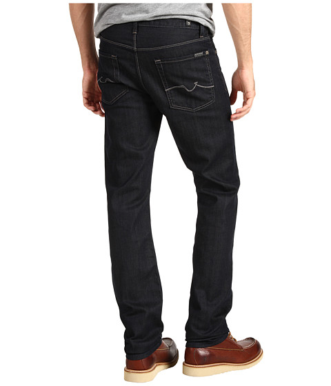 Blugi 7 For All Mankind - Slimmy Slim Straight w/ New Slimmy Squiggle in Chester Row - Chester Row