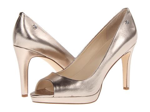 Pantofi Calvin Klein - Mara Tumbled Metallic - Pewter