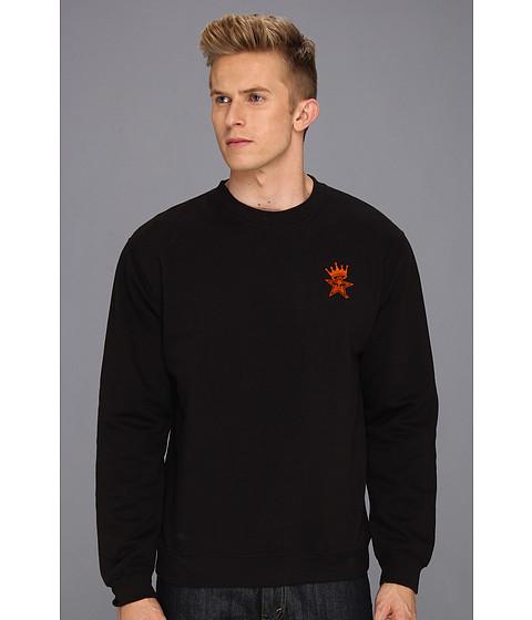 Bluze Obey - Star Crown Crew Neck Sweatshirt - Black