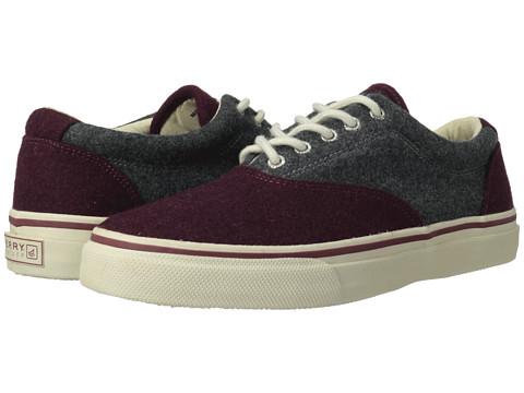 Adidasi Sperry Top-Sider - Striper CVO Wool - Burgundy/Grey