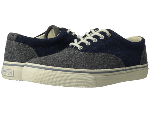 Adidasi Sperry Top-Sider - Striper CVO Wool - Grey/Navy