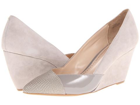 Pantofi Pour La Victoire - Minna - Dove Matt Lizard/Regular Patent/Kid Suede